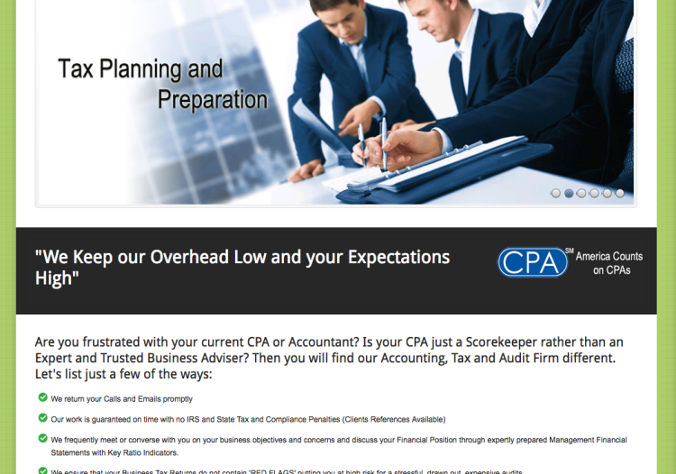 Website for Hassanali CPA